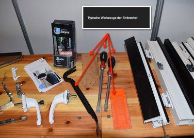 Werkzeuge und Demo Elemente